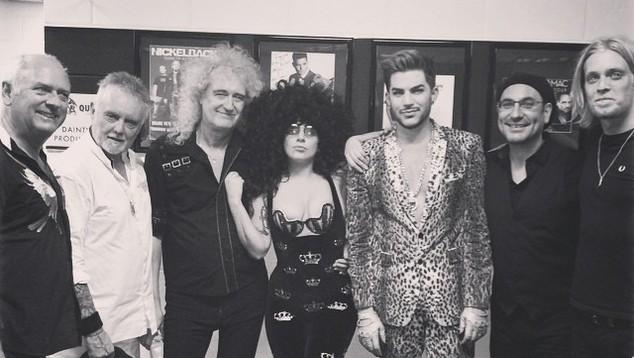 Lady Gaga Adam Lambert Queen