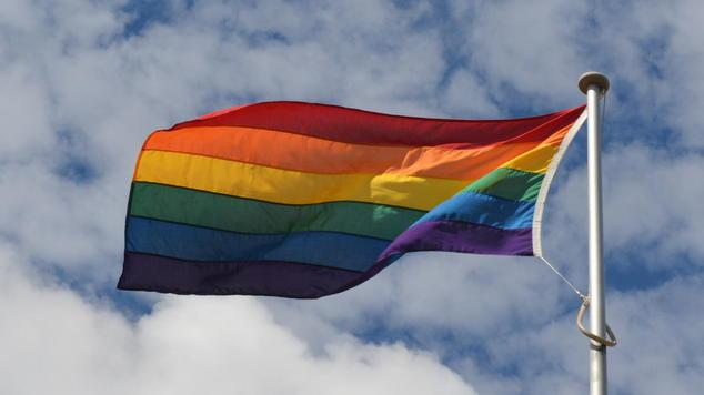 Curtin Rainbow Flag