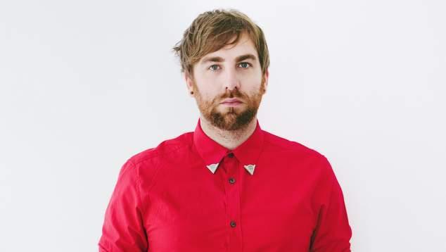 Josh Pyke - red shirt