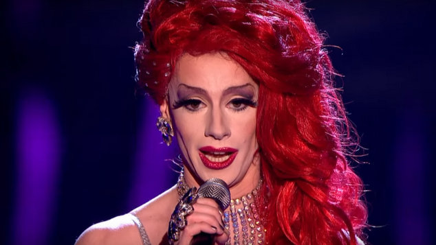 This Opera Performance On 'The Voice UK' Shocked The Judges, But Can You Guess Why Dragaholic on Queerty - Google Chrome 20012016 91116 AM