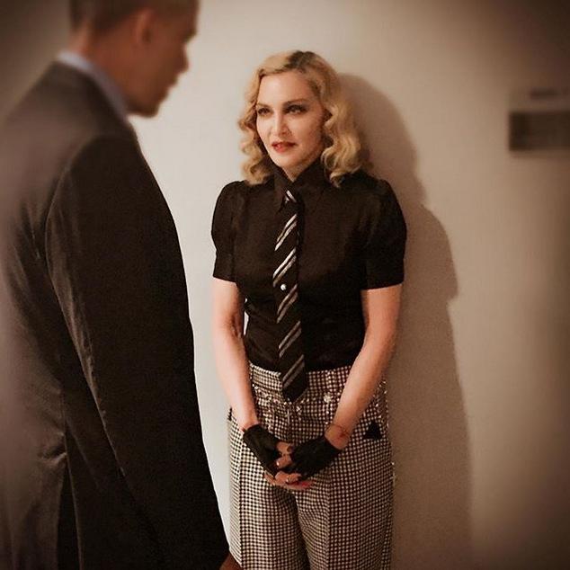 Madonna Barrack Obama