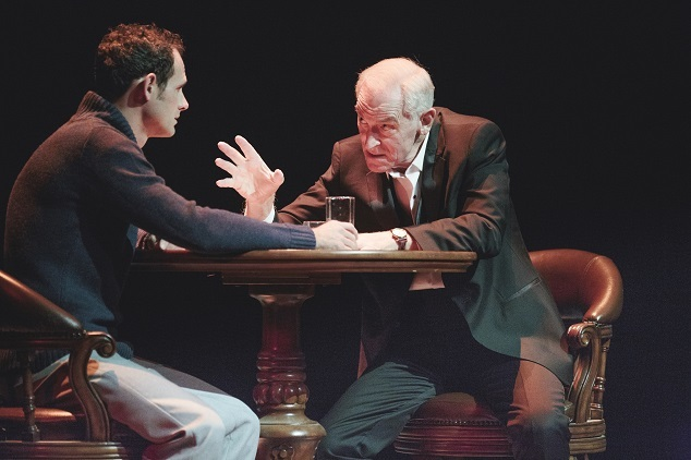 Stuart Halusz and John Stanton in Black Swan's production of Angels In America, Part One.