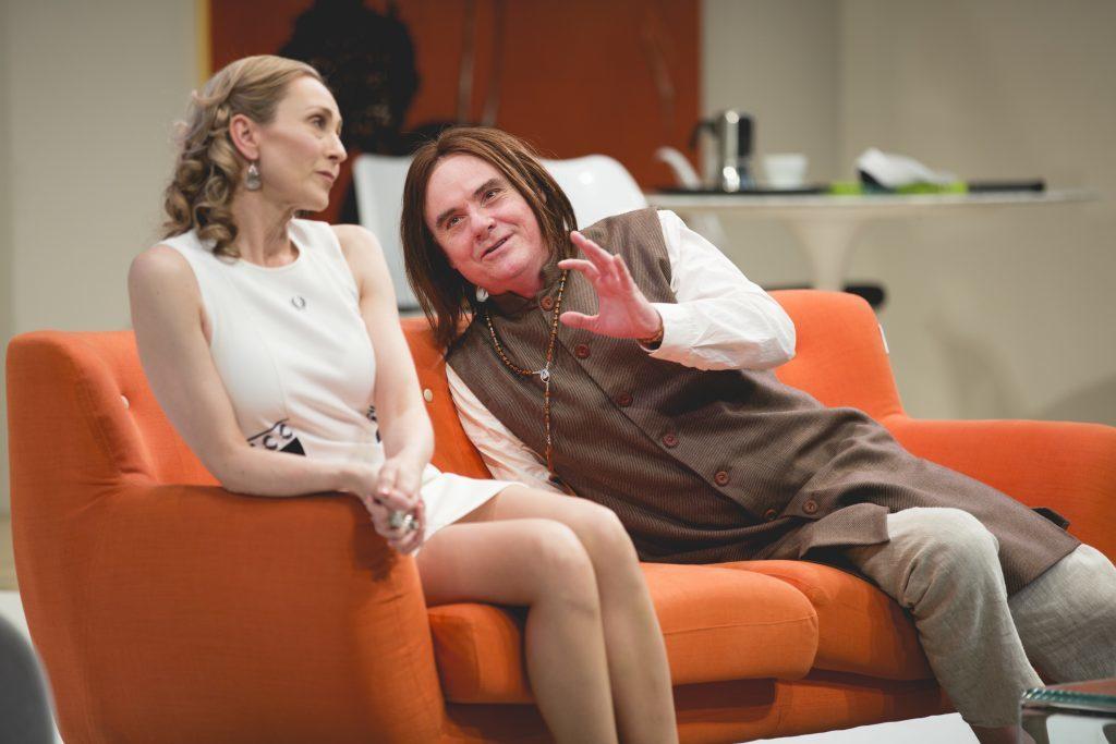01. Alison van Reeken and Darren Gilshenan.Tartuffe. Image by Daniel James Grant