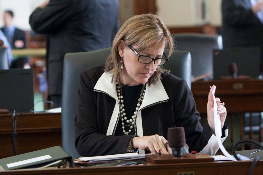 senator konni burton texas
