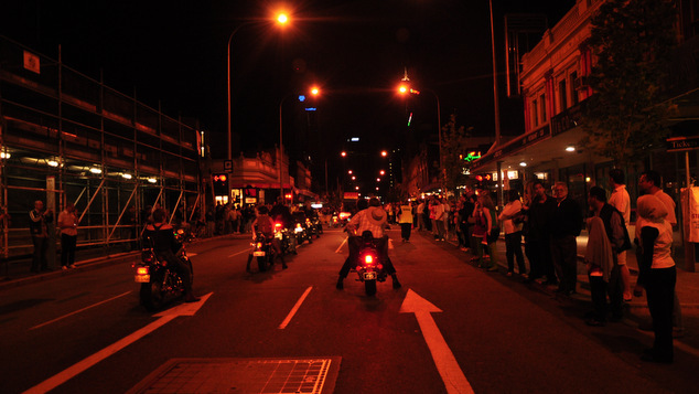 Red Dykes on Bikes
