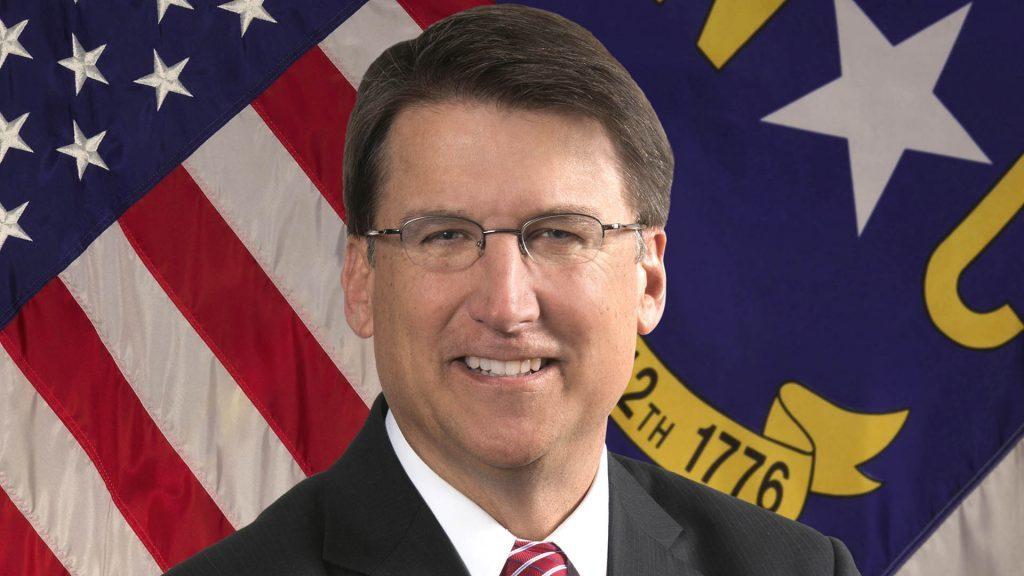 MCCrory north carolina pat governor