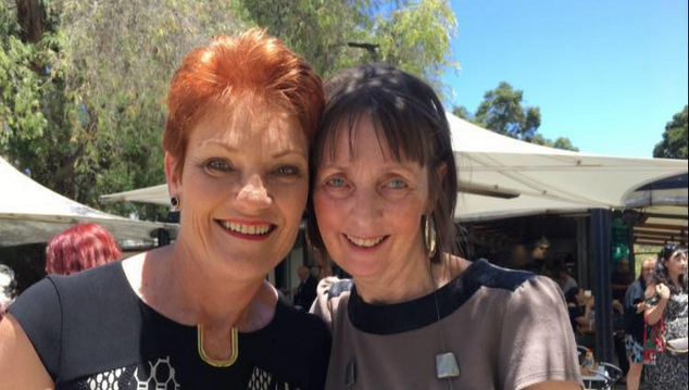 One Nation Pauline Hanson Michelle Meyers
