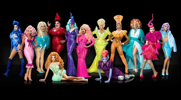 SEASON 9 CAST RUPAULS DRAG RACE