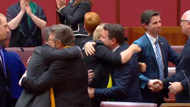 Senate passes same-sex marriage bill in Australia
