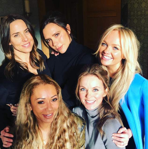 Spice Girls reunite for