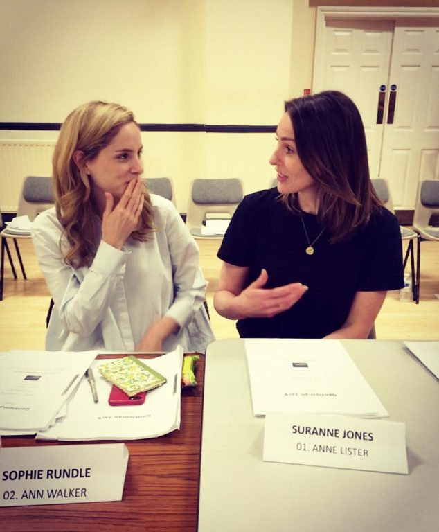 "Jones posted an image of the two at a recent table read to her Instagram  account. Alongside the photo the caption reads ""Meet my wife""."