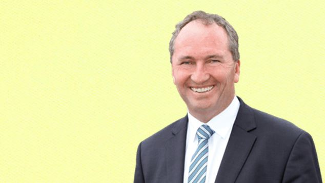 Barnaby Joyce'l television interview may be part of a plan