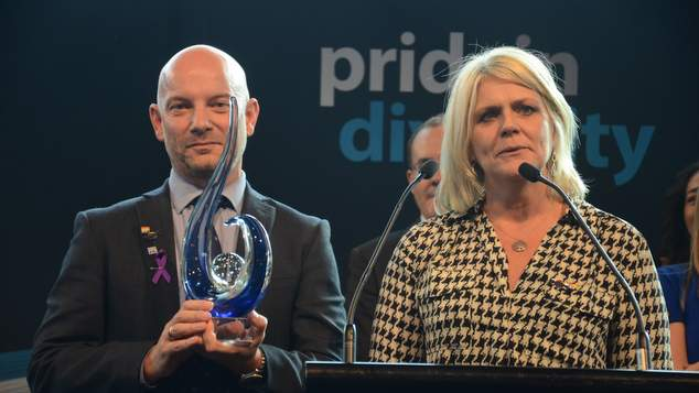 Professional Services firm EY named top employer for LGBTI