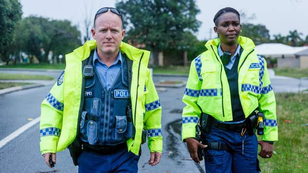 Get 'Behind the Blue Line' and see WA Police in action on