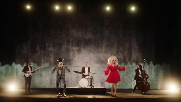 Trixie Mattel and Orville Peck perform Jackson